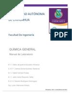 Manual de laboratorio de química de la facultad de ingeniería