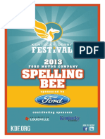 Spelling Bee Guide