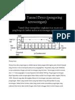 Tunnel Dryer
