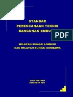 Buku Standar Teknis Embung