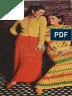 KNITTING PATTERN- Fireside Dress