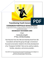 nov 23 transitioning youth focus group poster