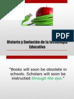 Historia y Evolución de la tecnología Educativa.pptx