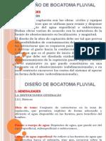 Diseño de Bocatoma Fluvial