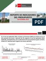Indicadores_Presupuesto_092016