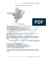 Jpn 1serie Geografia Lista de Exercicios