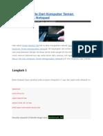 Cara Mecuri File Dari Komputer Teman Menggunakan Notepad.docx