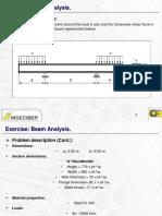 1.CivilFEM.steelBeam Analysis