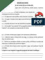 Estudo Do Texto Pokemon