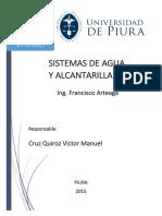Sistemas de agua y alcantarillado