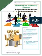 Negociacion Colectiva y Administracion de Contratos