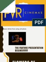 Service Marketing - Pvr Cinemas