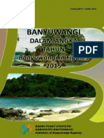 Kabupaten Banyuwangi Dalam Angka 2015