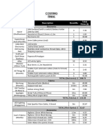 costing - final pdf