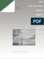 CRE - Comisión Reguladora de Energía Informe anual 2005