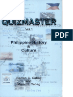 Philippine History Super Quiz Bee Reviewer by Quizmaster