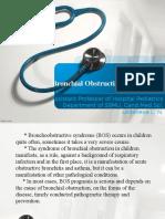 sindrome bronquial en niños