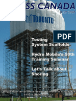 Scaffold Testing Procedure
