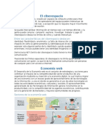 Ciberespacio y Economía Web