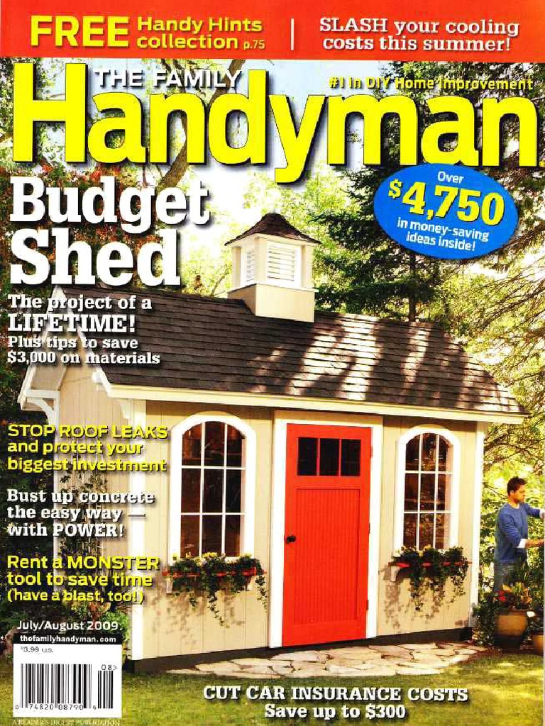 The Family Handyman 500 07082009 Framing Construction Shed How Circuit Breakers Work