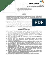 Tata Tertib Perusahaan