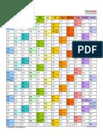 2016 Calendar Landscape in Color