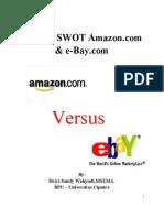 SWOT Analysis of AMAZON and E-bay