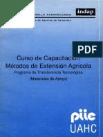 Curso de Capacitacion Metodos de Extension Agricola  IICA.pdf