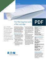 Eaton PROGAF Filter Bags TechnicalDataSheet US LowRes