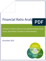 Financial Ratio Analysis Dec 2013