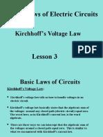 Lesson 3 Basic Circuit Laws