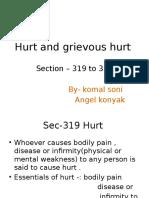 Hurt and Grievous Hurt