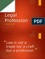 Legal Profession Report - Intro