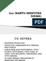 Kis (Kartu Identitas Siswa)