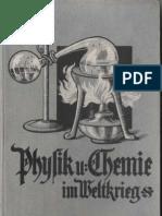 Physik Und Chemie Im Weltkrieg - Adolf Kistner 1917