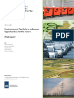 ETR in Europe - Final Report of IEEP Study - 30 May 2014