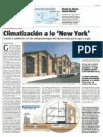 2010 12 12 LA VANGUARDIA Climatizacion a Lo New York
