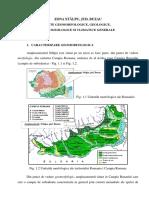 Amplasament Stalpu, Jud. Buzau - Date Generale Morfologice, Geologice, Hidrogeologice Si Climatice