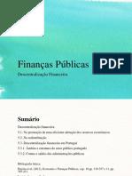 5. Descentralização Financeira Aula 9