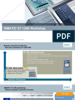 SIMATIC - S7-1200 Workshop (2016)