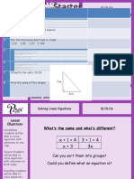 Solving Linear Equations PIXI