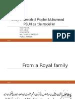 Study of Seerah of Prophet Muhammad PBUH Autosaved