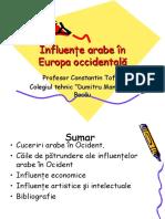 influente_arabe_in_europa_occidentala.pps