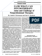 -What Can Do Psychotherapy