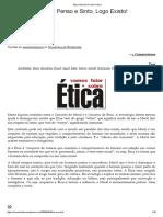 Ética e Moral _ Círculo Cúbico