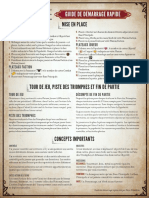 Scythe Quick Reference Guide - French