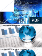 Managerial Economics (Consolidated)