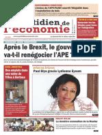 01088 Quotidien Du Mardi 05 Juillet 2016