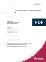 TOR 20098591 13 Space Vehicle Failure Modes Effects and Criticality Analysis FMECA Guide