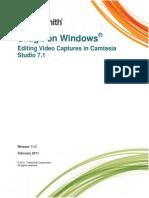 Editing Your Video Capture in Camtasia Studio 7.1